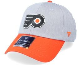 Philadelphia Flyers Grey Marl Unstructured Sports Grey/Orange Dad Cap - Fanatics
