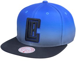 Los Angeles Clippers Color Fade Blue/Black Snapback - Mitchell & Ness