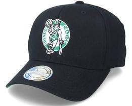 Boston Celtics Team Logo NBA Black 110 Adjustable - Mitchell & Ness