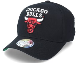 Chicago Bulls Team Logo NBA Black 110 Adjustable - Mitchell & Ness