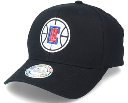 LA Clippers Team Logo NBA Black 110 Adjustable - Mitchell & Ness