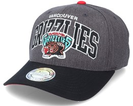 Vancouver Grizzlies G2 Arch Charcoal/Black 110 Adjustable - Mitchell & Ness