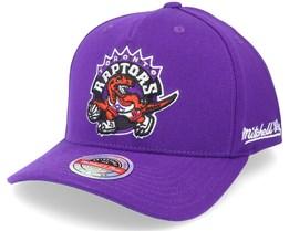 Toronto Raptors Dropback Solid Purple Adjustable - Mitchell & Ness