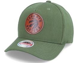 Toronto Raptors Pack Olive Adjustable - Mitchell & Ness