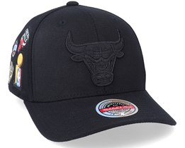 Chicago Bulls Rings Black Adjustable - Mitchell & Ness