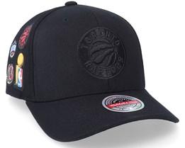 Toronto Raptors Rings Black Adjustable - Mitchell & Ness