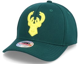 Milwaukee Bucks Green Dream Dark Green Adjustable - Mitchell & Ness
