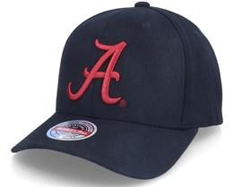 Alabama Crimson Tide U. Of Alabama Ncaa Logo Black Adjustable - Mitchell & Ness