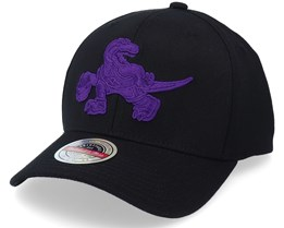 Toronto Raptors Duotone Black Adjustable - Mitchell & Ness