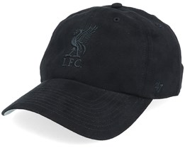 Liverpool Ultra Basic Clean Up Dad Cap Black Adjustable - 47 Brand