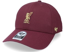 Liverpool FC Metallic Mini Mvp Dark Maroon Adjustable - 47 Brand