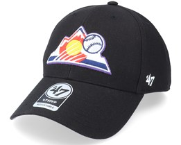 Colorado Rockies Mvp Black Adjustable - 47 Brand