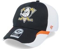 Anaheim Ducks Bracken Mvp Black/White Adjustable - 47 Brand