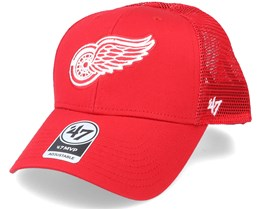 Detroit Red Wings Branson Mvp Red/White Trucker - 47 Brand