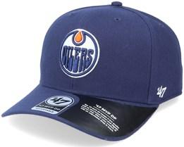 Edmonton Oilers Cold Zone Mvp DP Light Navy/White Adjustable - 47 Brand