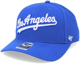 Los Angeles Dodgers Mvp DP Chain Link Script Royal/White Adjustable - 47 Brand
