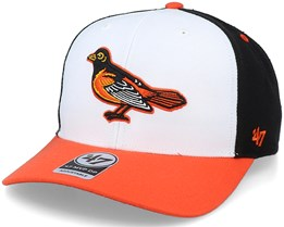Baltimore Orioles Cooperstown Mvp DP White/Black Adjustable - 47 Brand