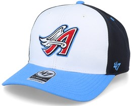 Los Angeles Angels Cooperstown Mvp DP White/Navy Adjustable - 47 Brand