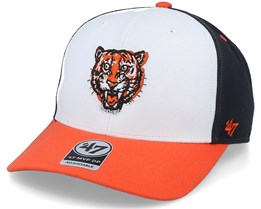 Detroit Tigers Cooperstown Mvp DP White/Navy Adjustable - 47 Brand