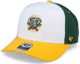 Oakland Athletics Cooperstown Mvp DP White/Dark Green Adjustable - 47 Brand