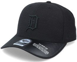 Detroit Tigers Cold Zone Mvp DP Black Adjustable - 47 Brand
