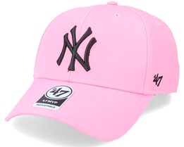 New York Yankees Mvp Pink/Black Adjustable - 47 Brand