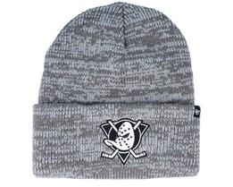 Anaheim Ducks Brain Freeze Dark Grey Cuff - 47 Brand