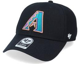 Arizona Diamondbacks Mvp Black Adjustable - 47 Brand