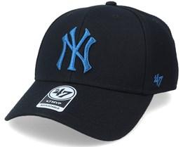 New York Yankees Mvp Black/Petrol Adjustable - 47 Brand