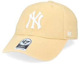 New York Yankees Legend Mvp Light Tan/White Adjustable - 47 Brand