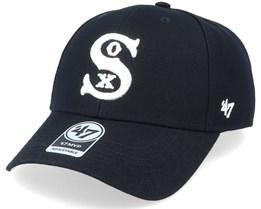 Chicago White Sox Mvp Black/White Adjustable - 47 Brand