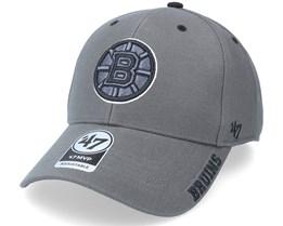 Boston Bruins Defrost Mvp Charcoal Adjustable - 47 Brand