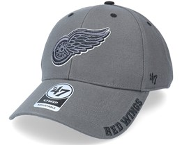 Detroit Red Wings Defrost Mvp Charcoal Adjustable - 47 Brand