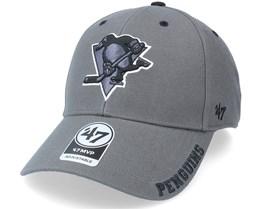 Pittsburgh Penguins Defrost Mvp Charcoal Adjustable - 47 Brand