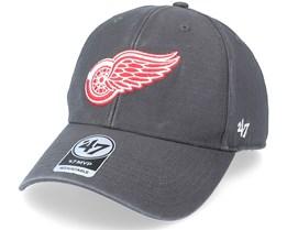 Detroit Red Wings Legend Mvp Charcoal Adjustable - 47 Brand