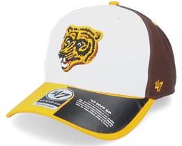Boston Bruins Replica Cold Zone '47 Mvp Dp White/Yellow/Brown Adjustable - 47 Brand