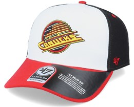 Vancouver Canucks Replica Cold Zone Mvp DP White/Black/Red Adjustable - 47 Brand