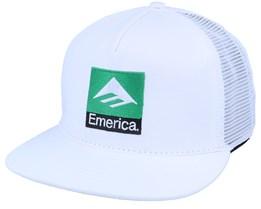 Classic White Snapback - Emerica
