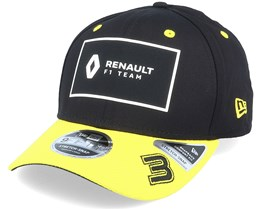 Renault 3 9Fifty Stretch Black/Yellow Adjustable - Formula One