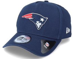 New England Patriots Team Washed A-Frame Navy Adjustable - New Era