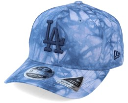 Los Angeles Dodgers Tie Dye 9Fifty Ss Dry Blue Adjustable - New Era