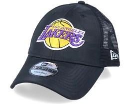 LA Lakers Seasonal 9Forty The League Black Camo Trucker - New Era