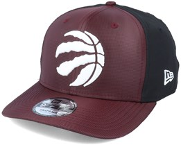 Toronto Raptors Ripstop Front 9Fifty Maroon/Black Adjustable - New Era
