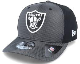 Las Vegas Raiders Ripstop Front 9Fifty Black Adjustable - New Era