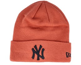 New York Yankees Essential Knit Rust/Black Cuff - New Era