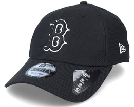 Boston Red Sox Diamond Era Essential 9Forty Black Adjustable - New Era