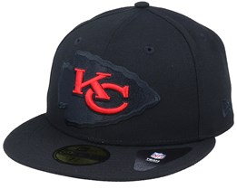 Kansas City Chiefs Elements 2.0 Black/Red Fitted - New Era