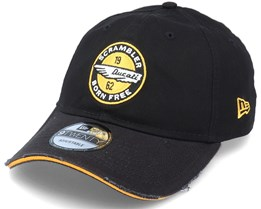 Ducati Scrambler Dad Cap 9Twenty Black/Yellow Adjustable - New Era