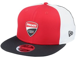 Ducati Multibadge 9Fifty Red/White/Black Snapback - New Era