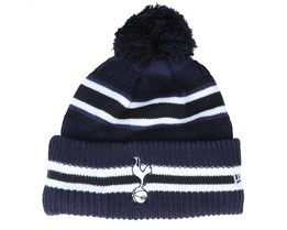 Tottenham Hotspur Fc Jake Knit Tothot Navy/White Pom - New Era